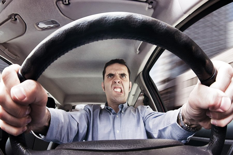 Blog post image - Road Rage