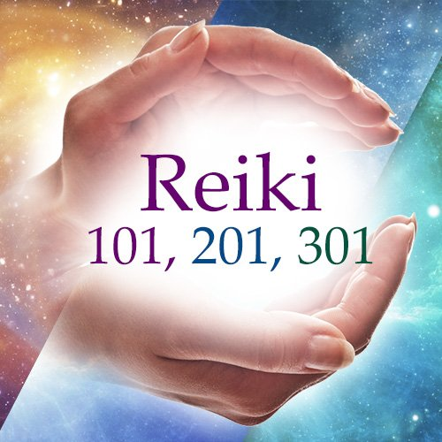 Reiki 101, 201, 301 Bundle (Online Course)
